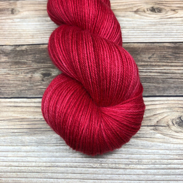 Camelot in Morgan le Fay - Round Table Yarns hand-dyed yarn tonal semi-solid self-striping