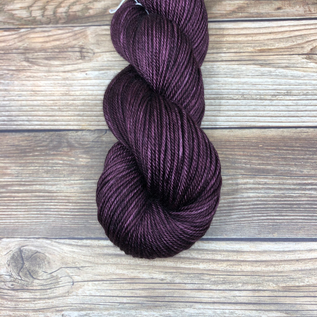 Avalon in Morold - Round Table Yarns hand-dyed yarn tonal semi-solid self-striping