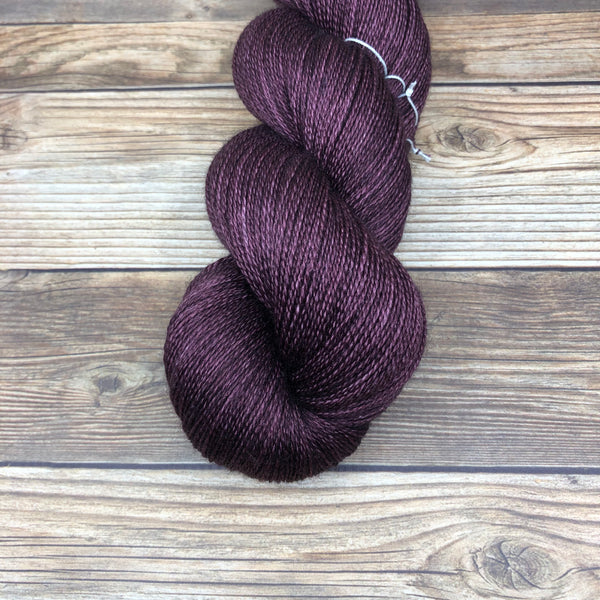Isolde in Morold - Round Table Yarns hand-dyed yarn tonal semi-solid self-striping
