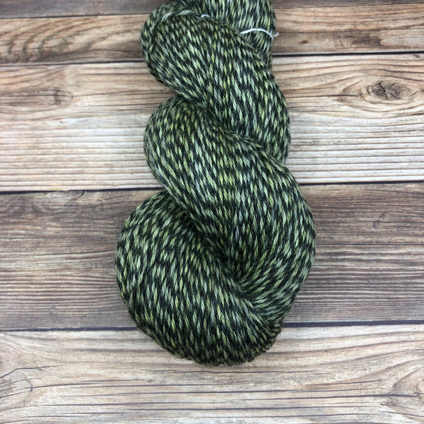 Madman of the Forest - Round Table Yarns hand-dyed yarn tonal semi-solid self-striping