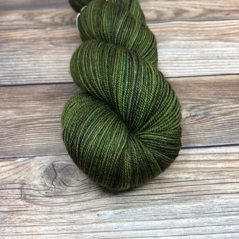 Legend in Pellinore - Round Table Yarns hand-dyed yarn tonal semi-solid self-striping
