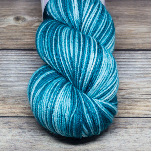 Merlin in Prydwen Sails Again (self-striping) - Round Table Yarns hand-dyed yarn tonal semi-solid self-striping