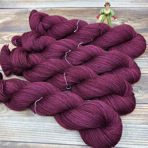 Legend in Shame and Slander - Round Table Yarns hand-dyed yarn tonal semi-solid self-striping