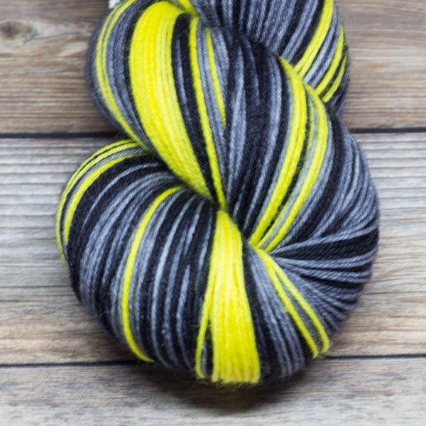 Merlin in Sword in the Stone (self-striping) - Round Table Yarns hand-dyed yarn tonal semi-solid self-striping