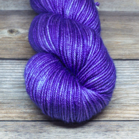 Avalon in Tintagel - Round Table Yarns hand-dyed yarn tonal semi-solid self-striping