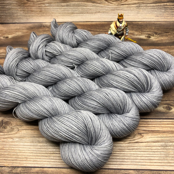 Merlin in Uther - Round Table Yarns hand-dyed yarn tonal semi-solid self-striping