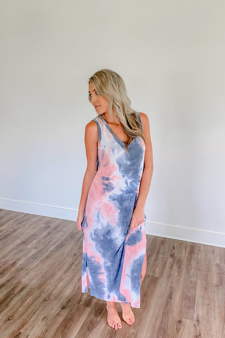 Chill Out Tie-Dye Maxi