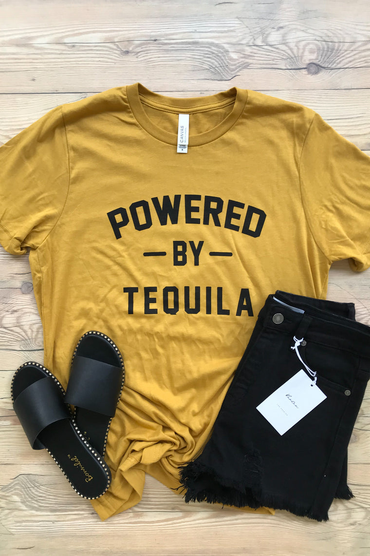 Powered By Tequila Tee