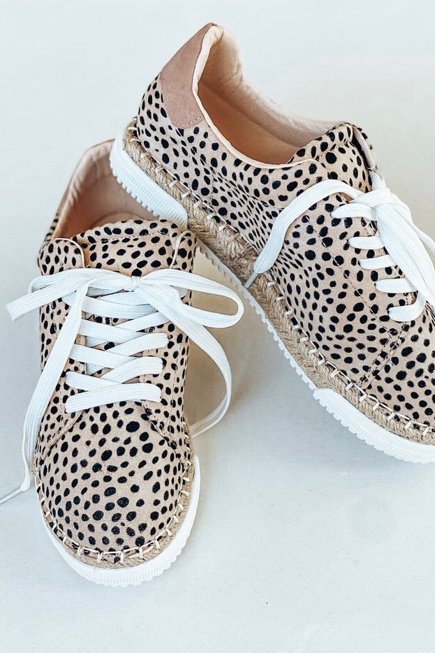 Sneak Up On You Cheetah Sneakers
