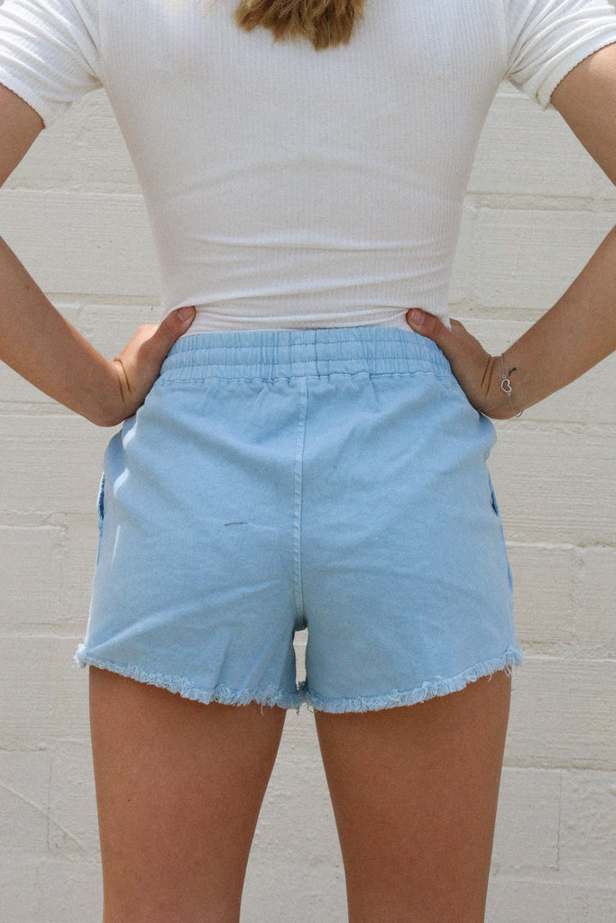 Paying Attention Chambray Short