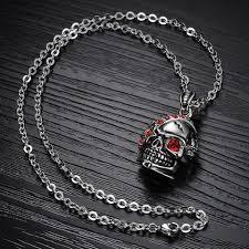 Gothic Necklaces For Guys-The Black Ravens