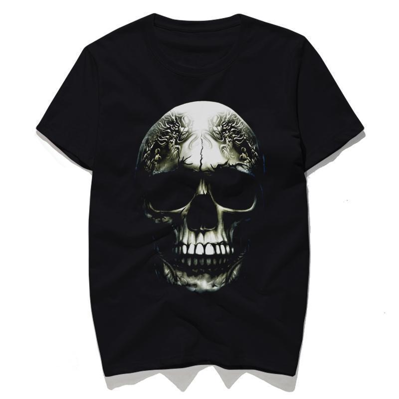 3D Haunting Skull Casual Top For Men - The Black Ravens