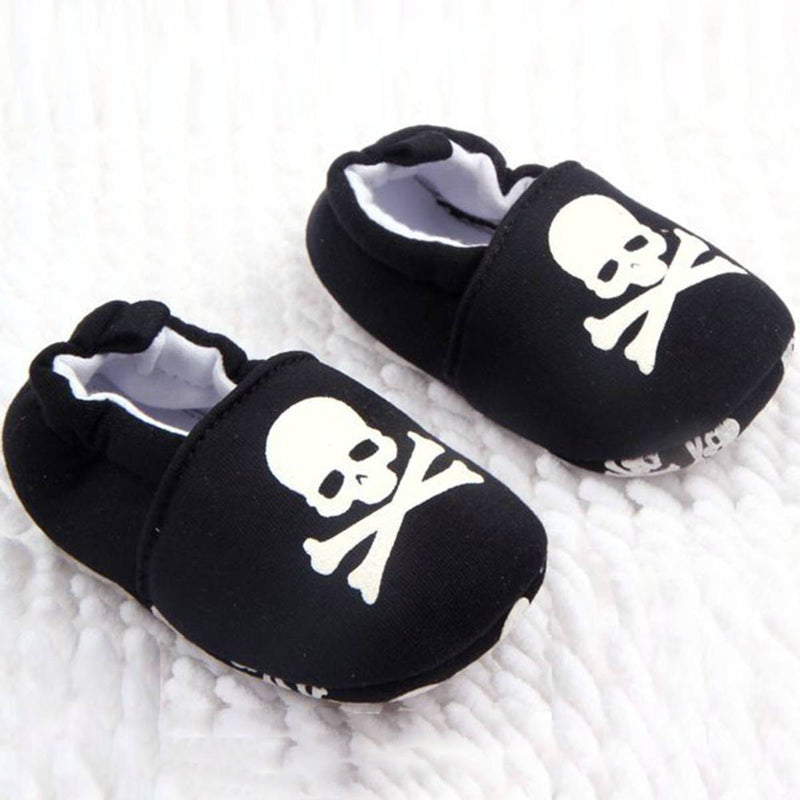 Adorable Baby Boy & Girls Gothic Black Snoozies - The Black Ravens