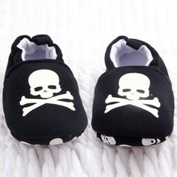 Adorable Baby Boy & Girls Gothic Black Snoozies-Black-1-