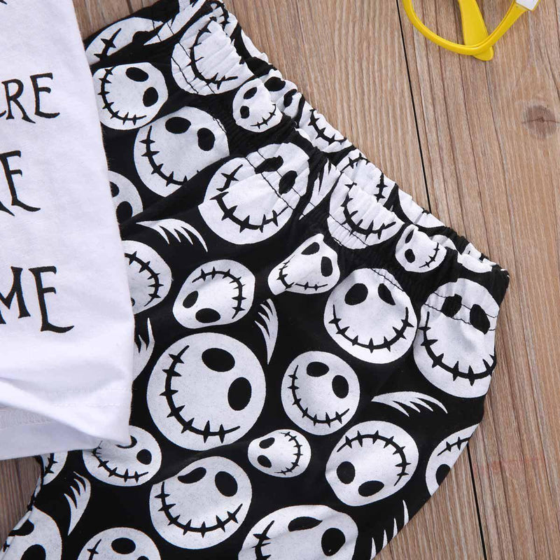Adorable Jack Skellington PJs For Children - The Black Ravens