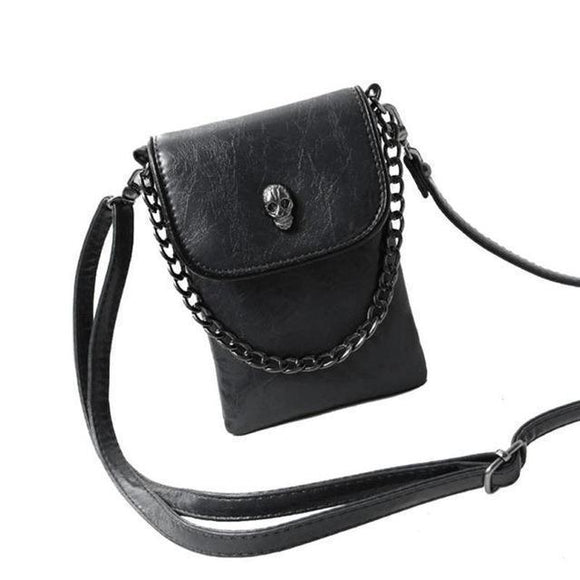 Adorable Tiny Mobile Phone Handbags-Black-
