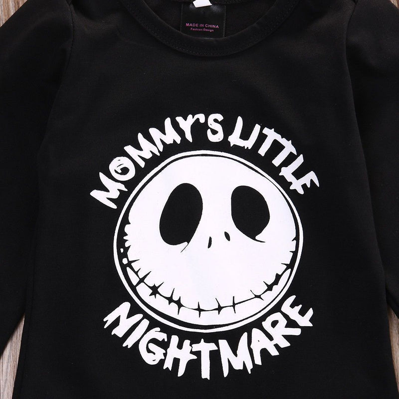 Adorable Toddlers Jack Skellington Pyjamas-Daddy'S Nightmare-0-3 Months-