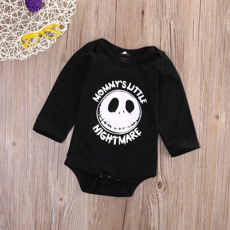Adorable Toddlers Jack Skellington Pyjamas-Mommy'S Nightmare-0-3 Months-