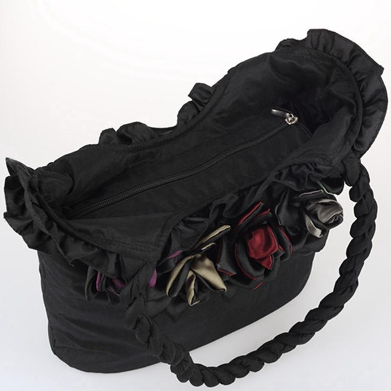 Adorable Women's Flower Shoulderbag - The Black Ravens