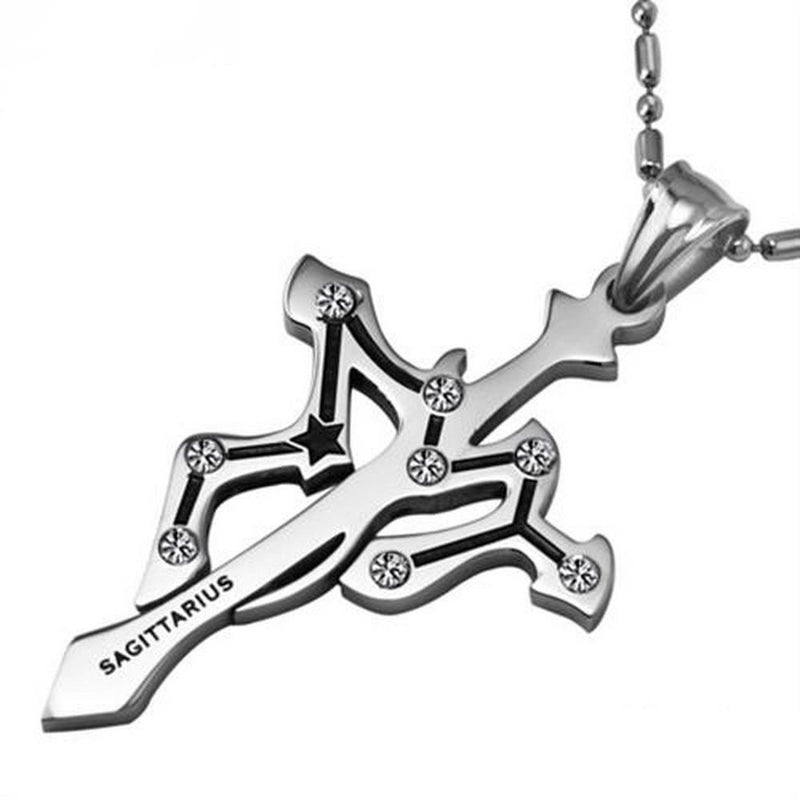 Adorable Zodiac Silver Pendant For Women-