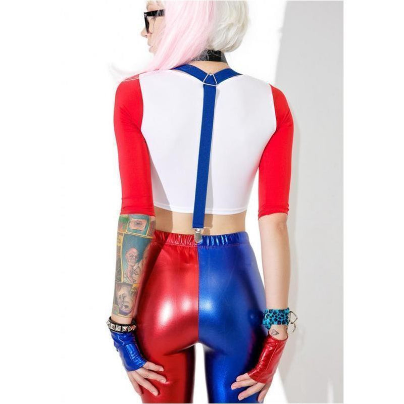 Adult DC Harley Quinn's Outfit For Women - The Black Ravens