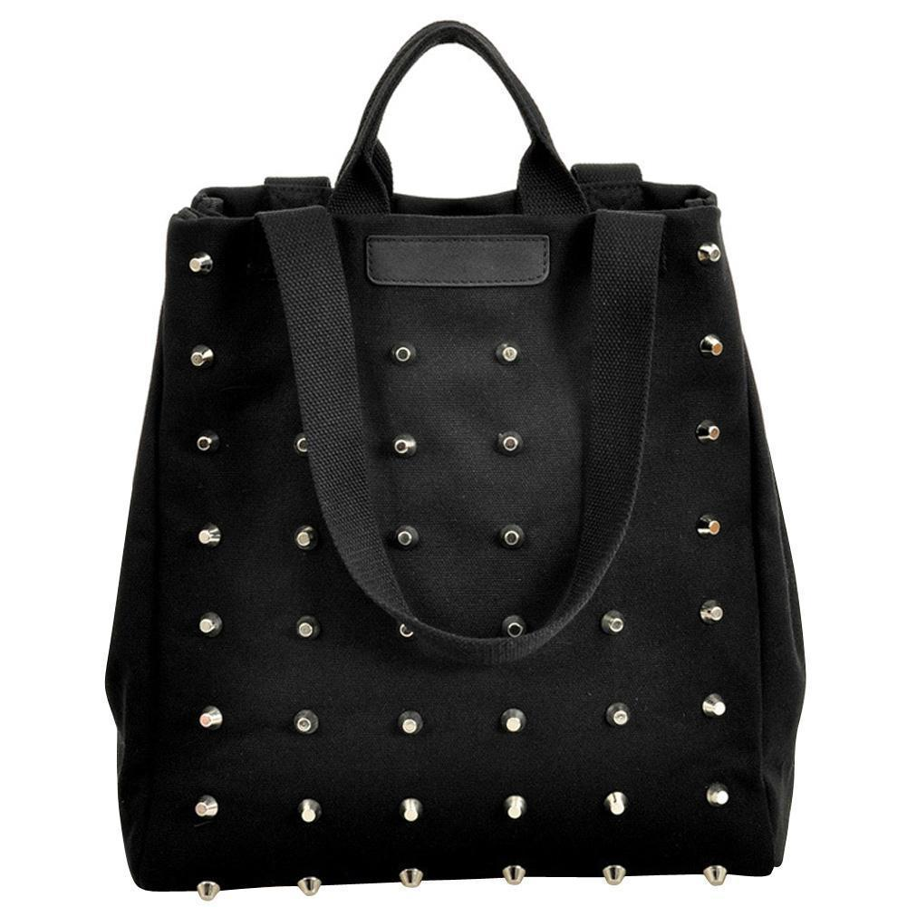 Awesome Faux Leather Gothic Stud Bags-