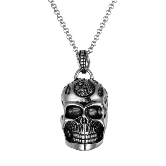 Awesome Skulls Pendant For Guys-
