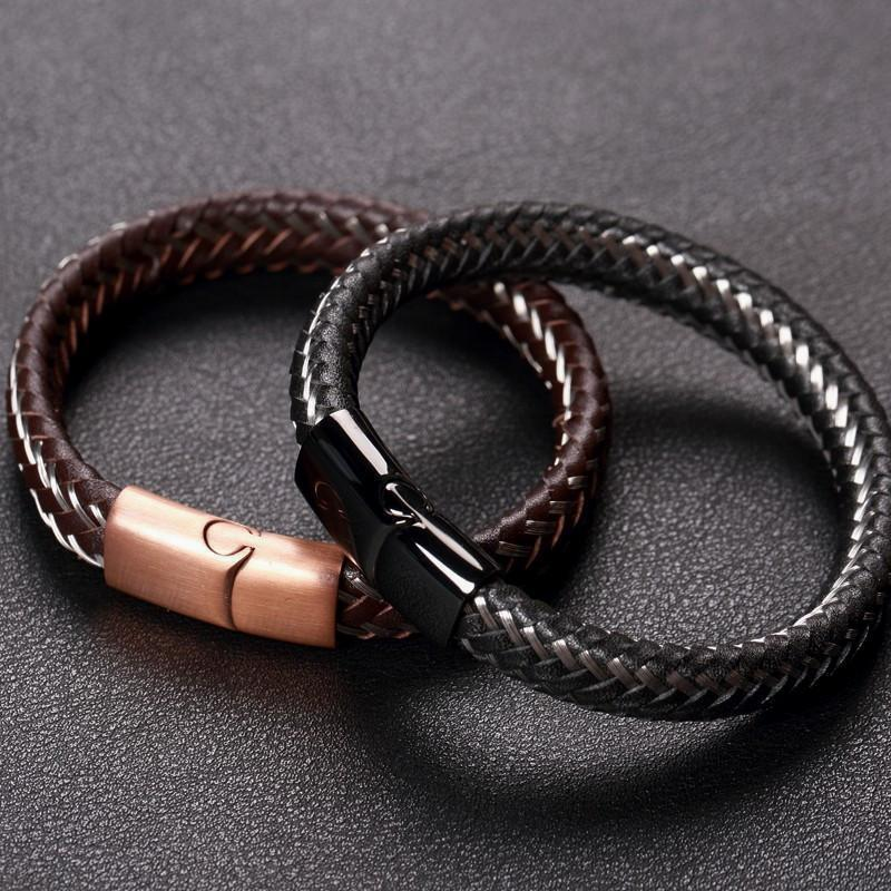 Badass Limited Edition Wire Cable Bracelets For Guys - The Black Ravens