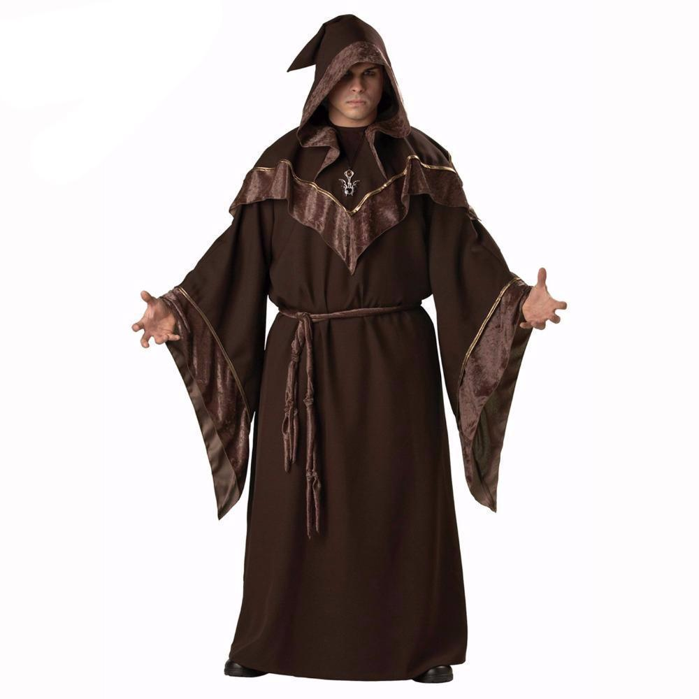 Badass Men's Halloween Evil Magician Outfit - The Black Ravens