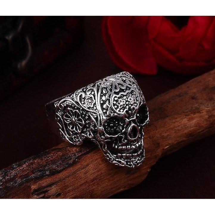 Badass Unisex Skulls Biker Rings - The Black Ravens