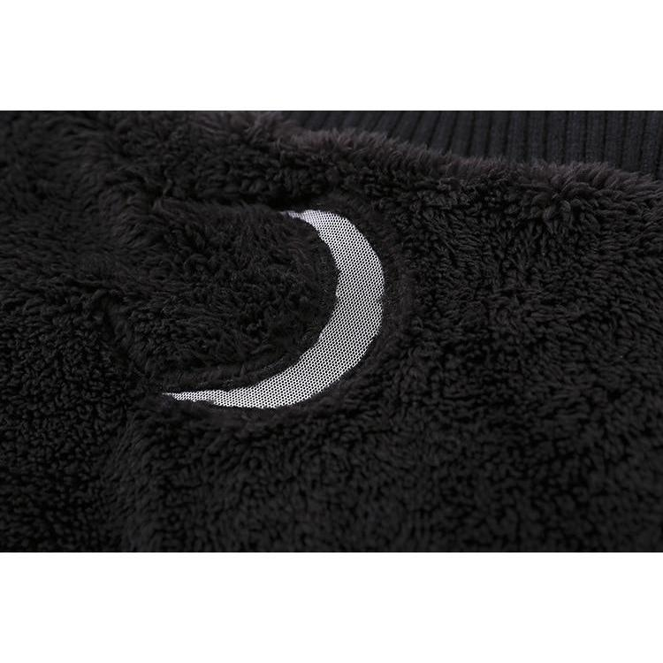 Beautiful Crescent Moon Off-Shoulder Pullover - The Black Ravens