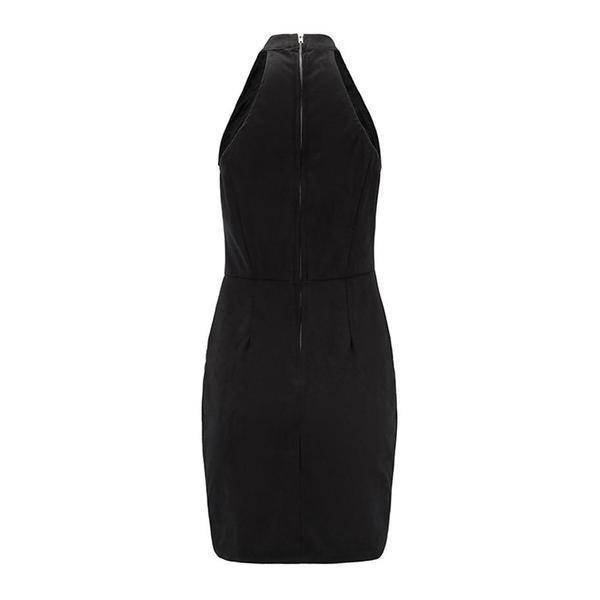 Beautiful Gothic Bandage Slim Dress - The Black Ravens