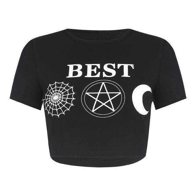 Best Witches Sexy Crop Top-BEST-L-