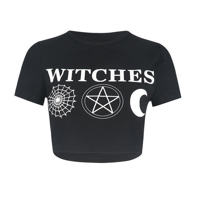 Best Witches Sexy Crop Top-WITCHES-XXL-