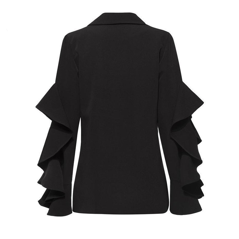 Black Witches Office Jacket - The Black Ravens