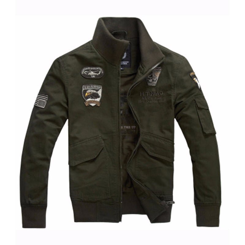 Cool Casual Military Men's Jacket - The Black Ravens