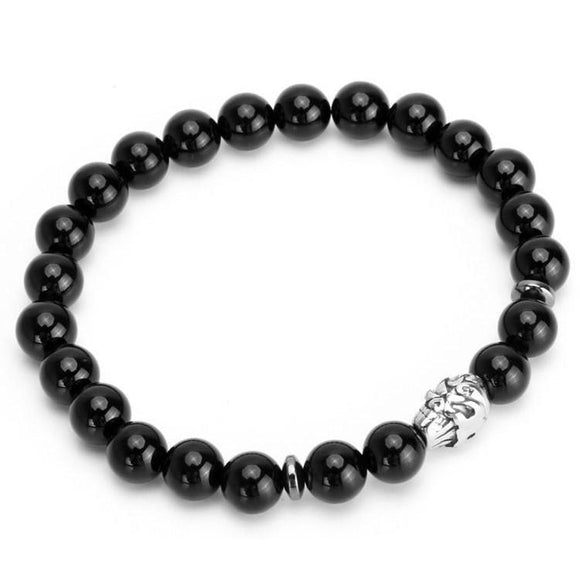 Cool Gothic Bracelets With Skulls For Men-1-16.5cm/6.5'-