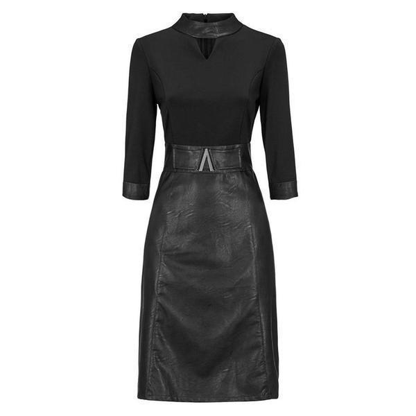 Cool PU Sheath Gothic Clubwear-M-