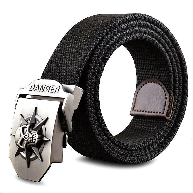 Cool Stainless Skulls Buckle For Guys - The Black Ravens