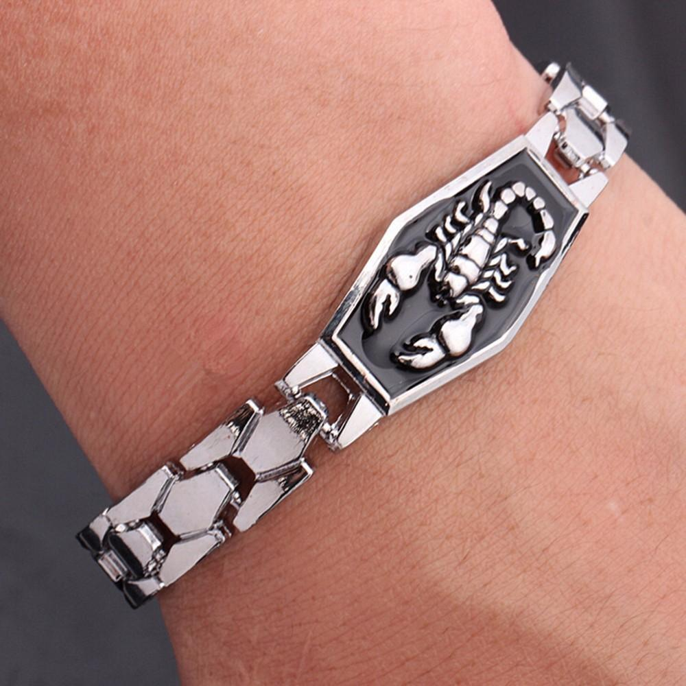 Cool Unisex Astrology Scorpio Bangle - The Black Ravens