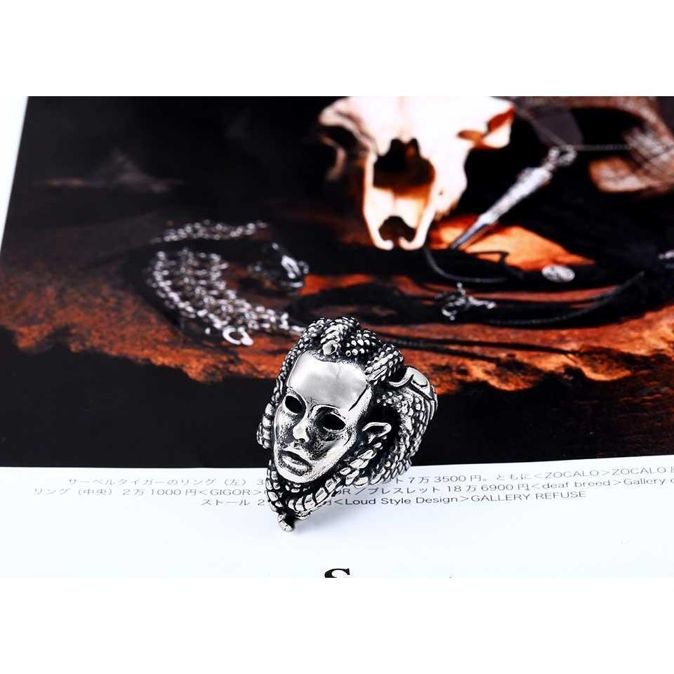 Creepy Guys Silver Medusa Rings-7-