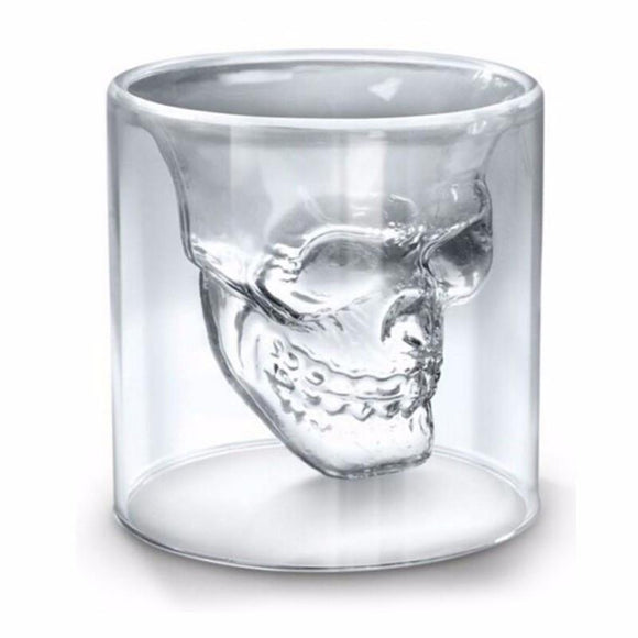 Crystal Skeleton Head Mugs-Skull-75ml-