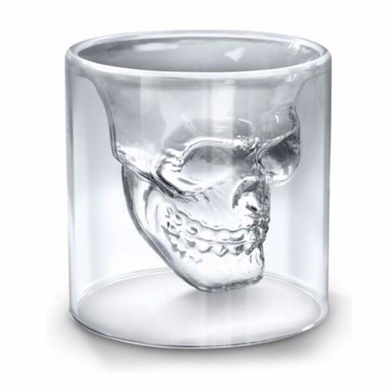 Cool Gothic Skeleton Head Chalices