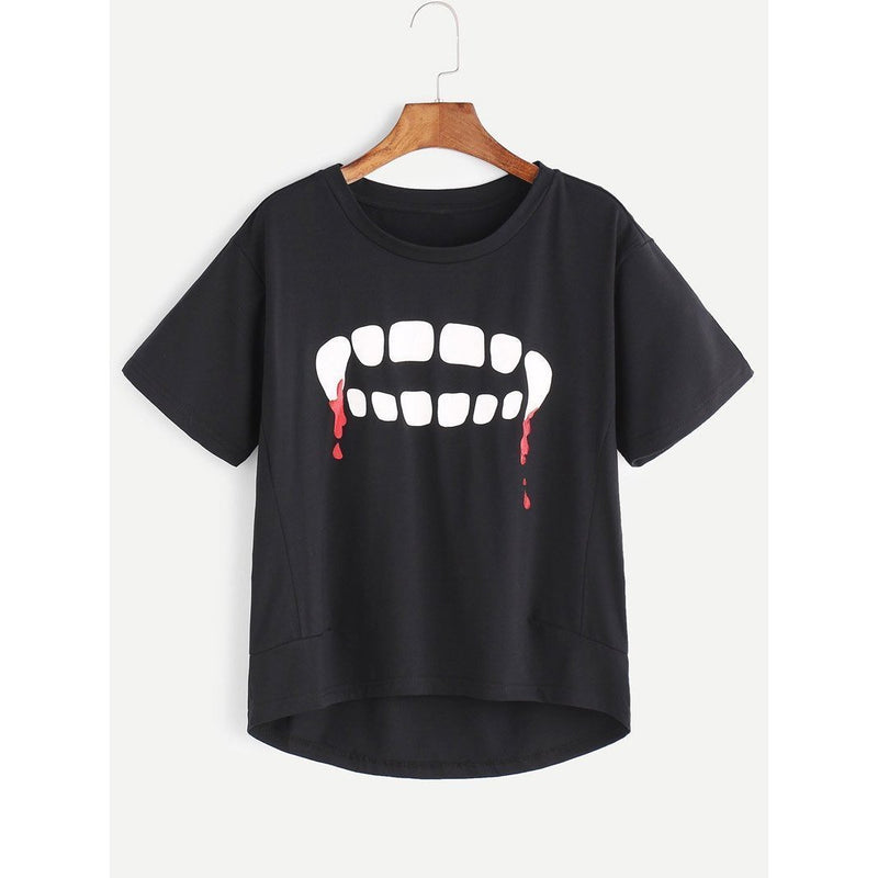Cute Baggy Vampires Tee - The Black Ravens