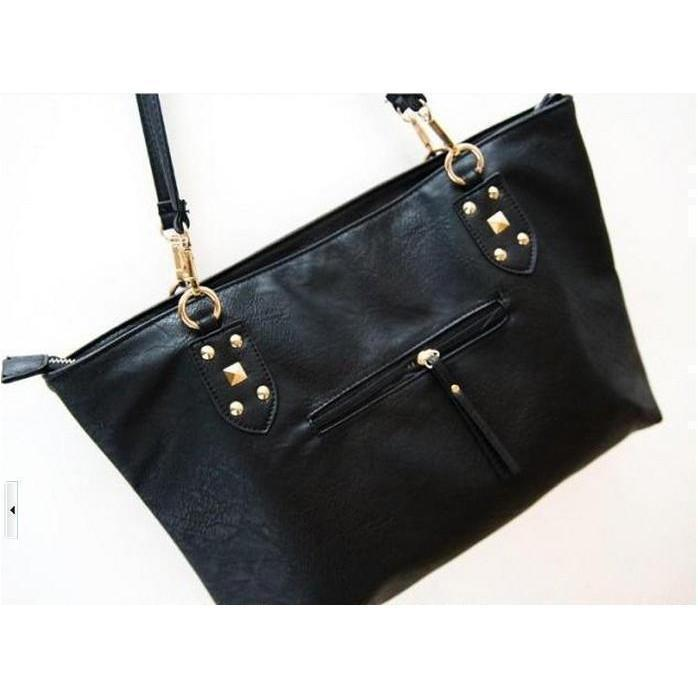 Cute Faux Leather Skeleton Face Bag-
