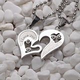 Cute Romantic Couples Lovers Charms-Silver & Silver-