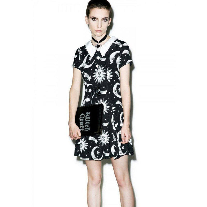 Hot Short See No Evil Skull Dresses