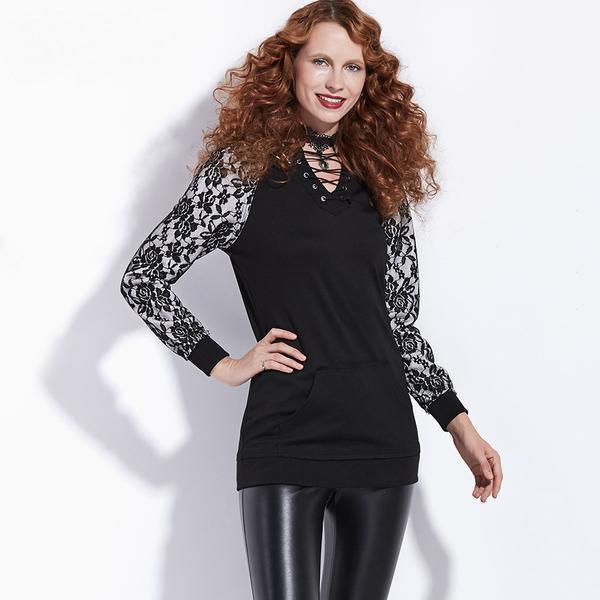 Cute Women's Alternative Tight Goth Dress - The Black Ravens