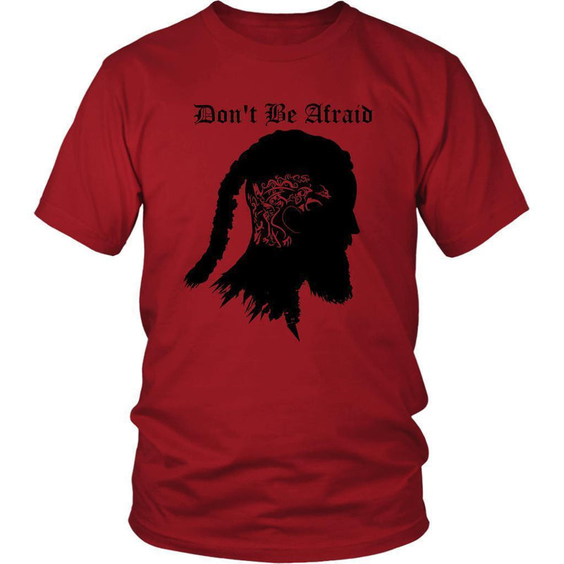 Don't Be Afraid District Shirt For Men - The Black Ravens