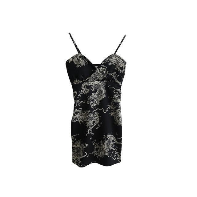 Dragon Lady Party Bodycon-S-